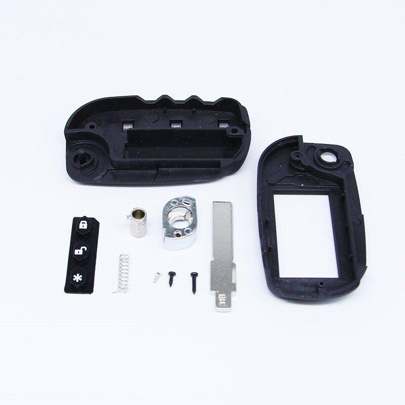 A91 folding car flip remote case Starline A91 A61 B9 B6 uncut blade fob case cover