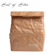 East of Eden Ice pack kraft paper lunch bag Eco-friendly aluminum film lunch box bag paper lunch bag Insulation bag(China)