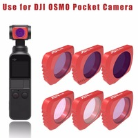 DJI Osmo Pocket Filter Gimbal Camera Filters ND4 8 16 CPL UV Polarazing Neutral Density Filter accessories for Osmo Pocket Parts