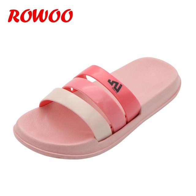 Women Sandals Bathroom Slippers S Fashion Indoor Outside Slides Las Summer Flip Flops