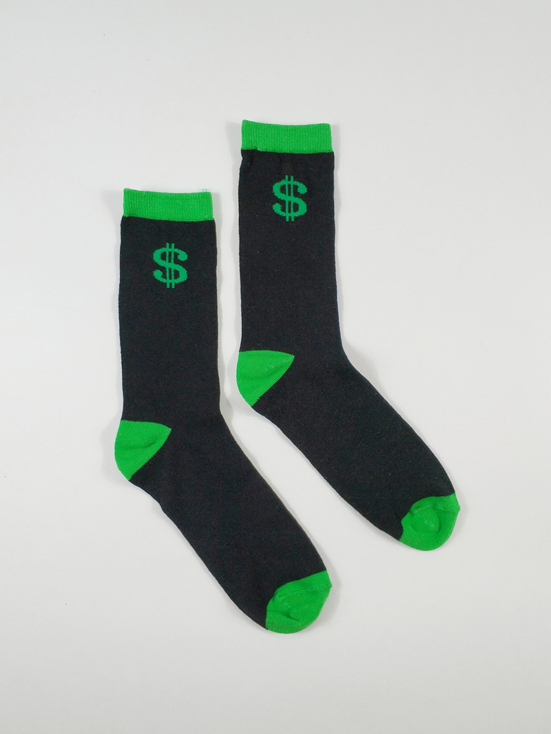 Men's Funny Skate Street Casual Socks USA Size 8-10,Euro Size 41-43 (Thin Material)