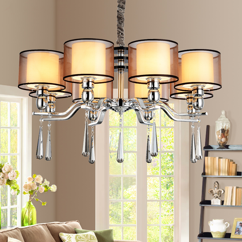 Dining Room Modern Crystal Chandeliers: Aliexpress.com : Buy Modern Crystal Chandelier K9 Crystal