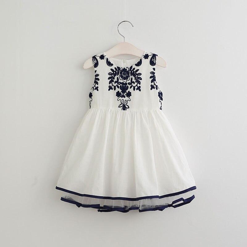2017 New Girls Dress Fashion Design Princess Party Dress
