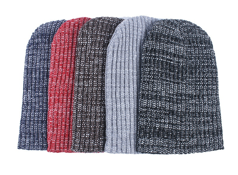 Bw178119 2017New acrylic sweter knit beanies, fashion simple solid hatsfor women,Warm fall&winter skullcap
