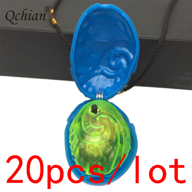 20pcs/lot 	Ocean Romance Moana Glowing Singing Pendant Stage Performance Mall Promotion Jewelry Gifts