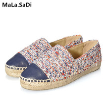 Hot Sale Spring Autumn New Fashion High Quality Sweet Women Flats Espadrilles Shoes Mixed Colors Casual Loafers Shoes Size 34-42 цены онлайн