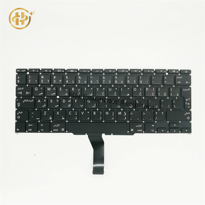 10pcs/lot Brand New Arab Arabic For Macbook Air 11 A1370 A1465 Arab Arabic Laptop Keyboard 2011 2012 2013 2014 2015 Years image