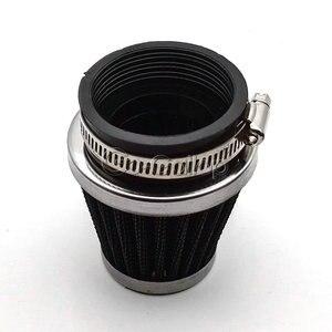 Image 5 - מותאם אישית 4PCS 35mm 39mm 48mm 50mm 52mm 54mm 60mm אוויר מסנני Pod מנקה עבור הונדה קוואסאקי סוזוקי ימאהה