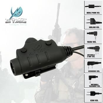 Z 115 Tactical Headset Accessorie Z-Tactical U94 PTT NEW Version Hunting Noise Reduction Headphones PTT