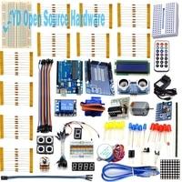 1 Set Starter Kit Basic Learning Suite For Uno R3 Kit Upgraded Stepper Motor LED Jumper