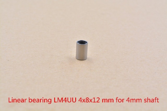LM6UU Linear Ball Bearing Bush Bushing For 6mm Rod RepRap 3D Printer Fashion OS