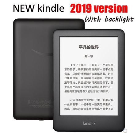 Nouveau 6 pouces kindle 2019 version rétro-éclairage ebook 4G e livre eink e-ink lecteur écran tactile wifi ereader e livre lecteur