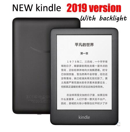 Nova 6-polegada kindle 2019 versão Backlight 4G e-book eink ebook e-leitor de tinta tela sensível ao toque wi-fi ereader e-book reader