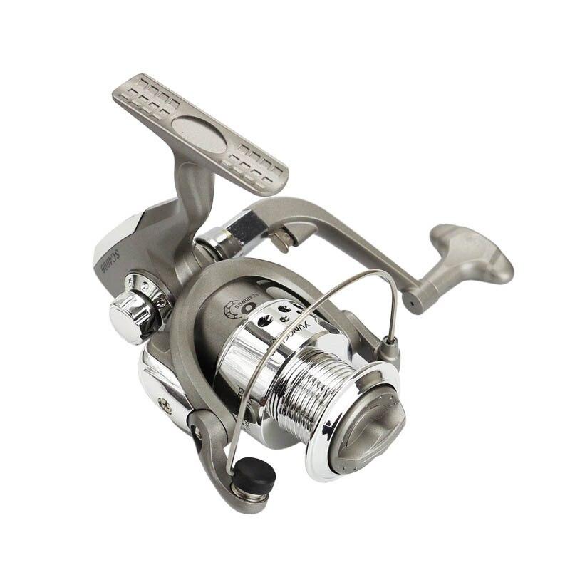 8BB SC серии 5.5: 1 соотношение Рыболовные катушки Пластик База Spincast Катушка Рыбалка вращающихся колеса выстрел Инструменты als88