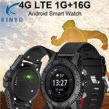 Kinyo Smartwatch 2018 New Type 4G LTE Sensible Clock Android 7.zero 1G+16G Assist Wifi Bluetooth Sensible watch pk GPS smartwatch