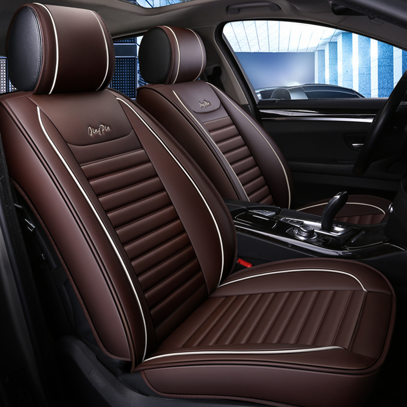 5seats front rear car seat cover breathable leather car seat cover for Audi A1 A3 A4