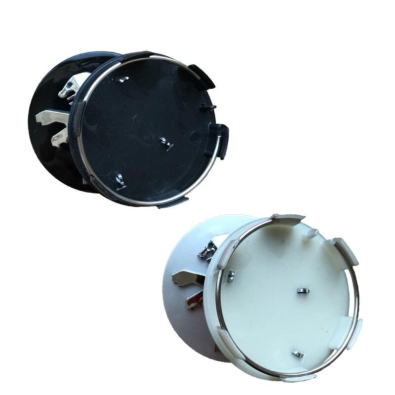 Ordelijk 4 Stks/set 60 Mm Zwart/zilveren Auto Wiel Center Caps Hubs Covers Embleem Voor Peugeot Embleem Badge 206 207 307 308 301 407 408 508