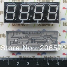 0.28 0.36 0.4 0.56 0.8 inches 4 bit common cathode or common anode Digital tube / Nixie tube red light with time show