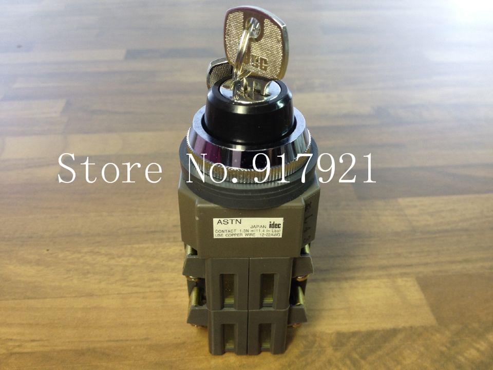 [ZOB] Japan's IDEC and ASTN three bit key rotating button button 30MM NO NC double gear rotation  --2PCS/LOT timberk tor 21 2009 bcl