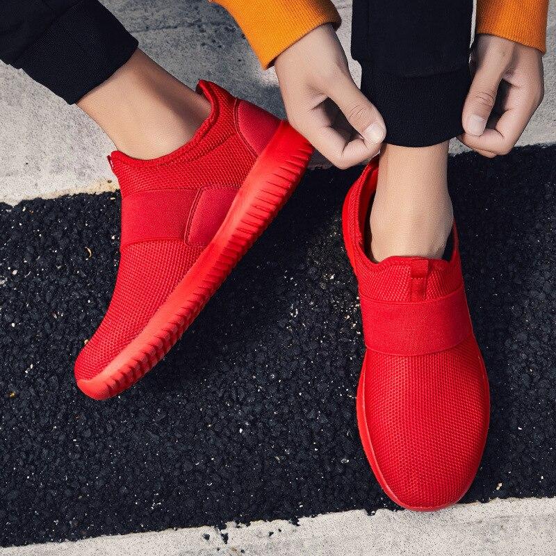 Cómodos Ligero Nuevos De azul Casuales Para Negro 058 Zapatillas Os Hombres Caminar Moda Zapatos Sexemara Malla rojo Transpirable zw8qFdz