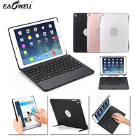 Detachable Tablet Case Wireless Keyboard Bluetooth 7 colors Backlit Keyboard For iPad 9.7 2017/2018 A1822 A1823 A1893 A1954 Case