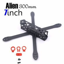 цена на Alien FPV quadcopter frame 225 225mm DIY cross racing mini drone carbon fiber with 4mm arm w/ PDB For FPV frame kit quadcopter