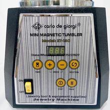Vaso magnético Joyería rotatoria del vaso Tumbler 250 w Joyería Pulidora Acabado con 100g pernos magnéticos de forma gratuita