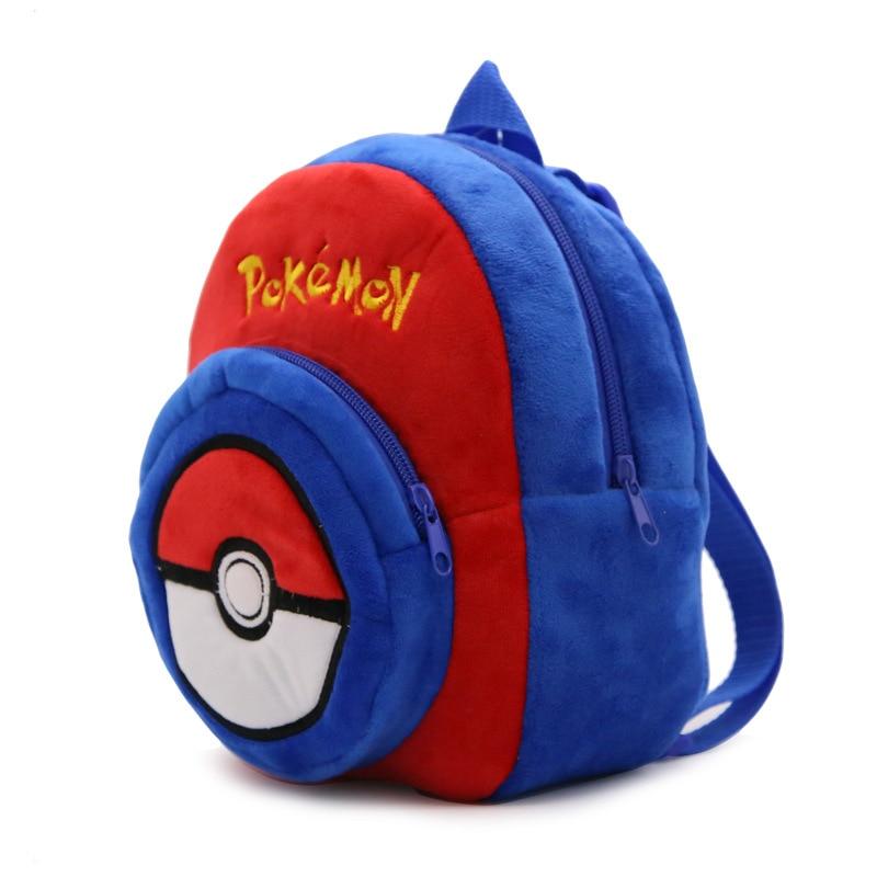 Yumşaq Nop Pokemon Elves Top Sırt Çantası Uşaq Çantası - Bel çantaları - Fotoqrafiya 2
