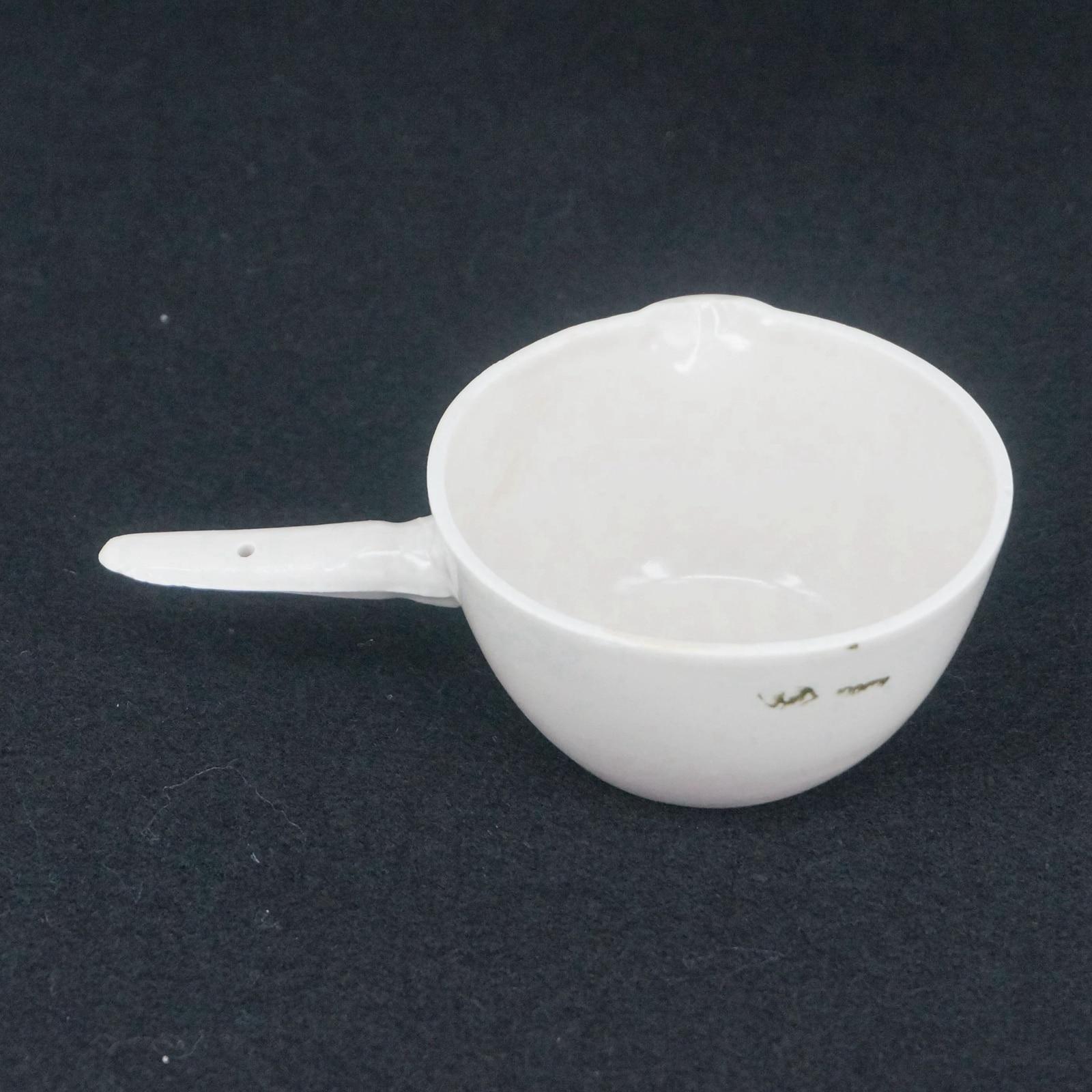 100ml Ceramic Evaporating dish Round bottom with handle For ... for Laboratory Evaporating Dish  111ane
