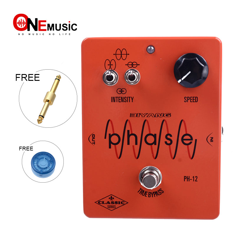 biyang ph 12 mxr phase 100 effect custom true bypass controls speed electric guitar effect pedal. Black Bedroom Furniture Sets. Home Design Ideas