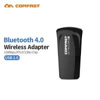Comfast Bluetooth 4 0 150Mbps Mini Wireless USB WI FI Adapter LAN WIFI Network Card Support