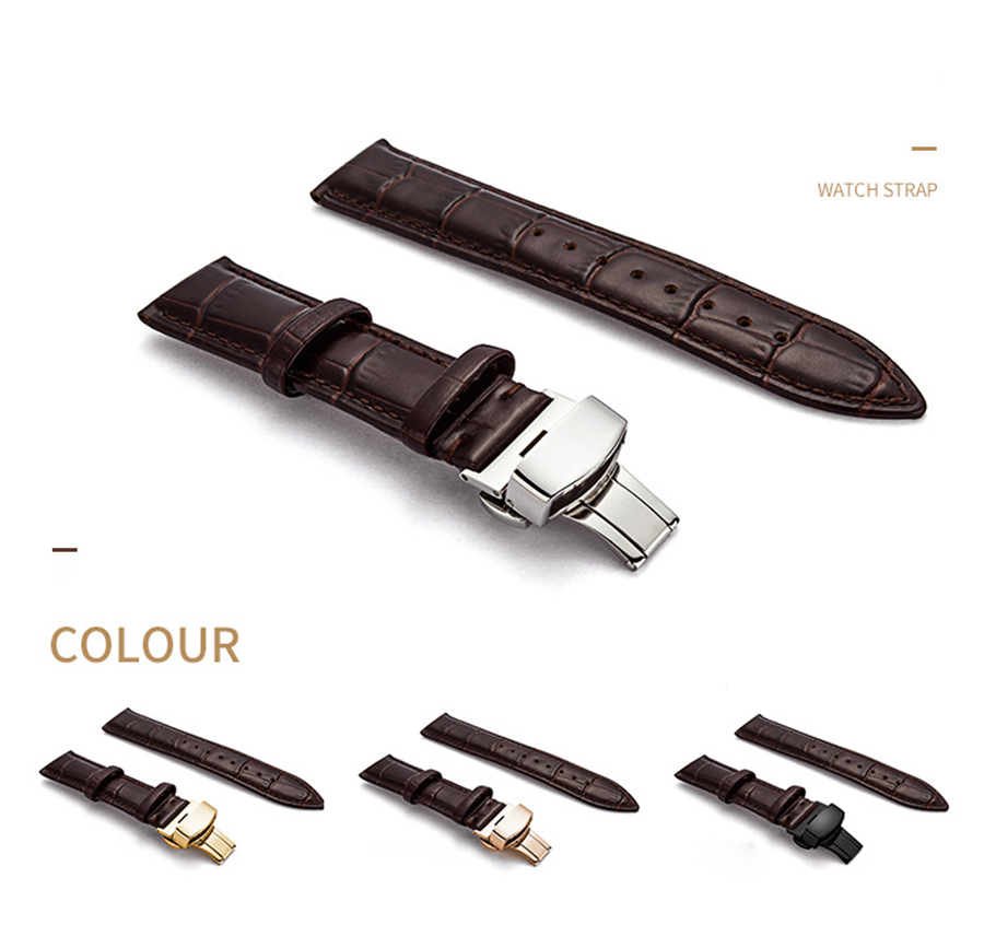 Genuine-Leather-Watch-Band-Strap-Stainless-Steel-Butterfly-Clasp-13mm-14mm-15mm-16mm-17mm-18mm-19mm (4)