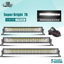 CO LIGHT Led Light Bar Offroad 390W 585W 780W 3-Rows Work Combo 22 32 42 Driving Lamp for Turck SUV ATV 4X4 Car