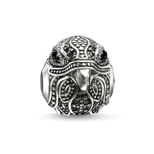 Unique Falcon Eagle European Charms Beads Fit Thomas Style Bracelet Necklace DIY Animal Karma Bead For Ts Jewelry Making Perles