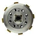 Motocicleta piezas del motor de embrague conjunto del tambor (5 unids) para yamaha ybr125 ybr 125 2002-2013