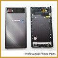 Original Back Cover For Lenovo VIBE Z2 PRO K920 mini Rear Housing Door Battery Case With Side Power Volume Button Key +Logo