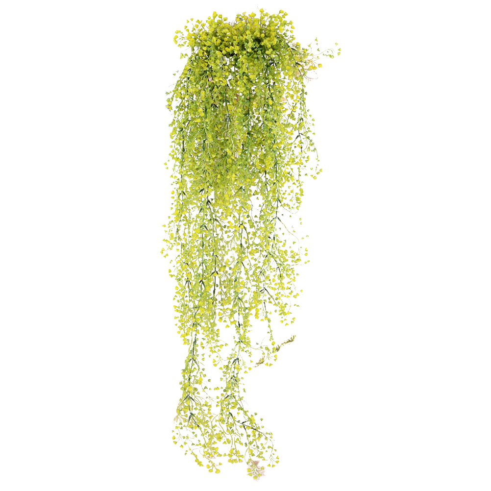 85CM Artificial Hanging Flower Plant Fake Vine Willow Rattan Flowers ...