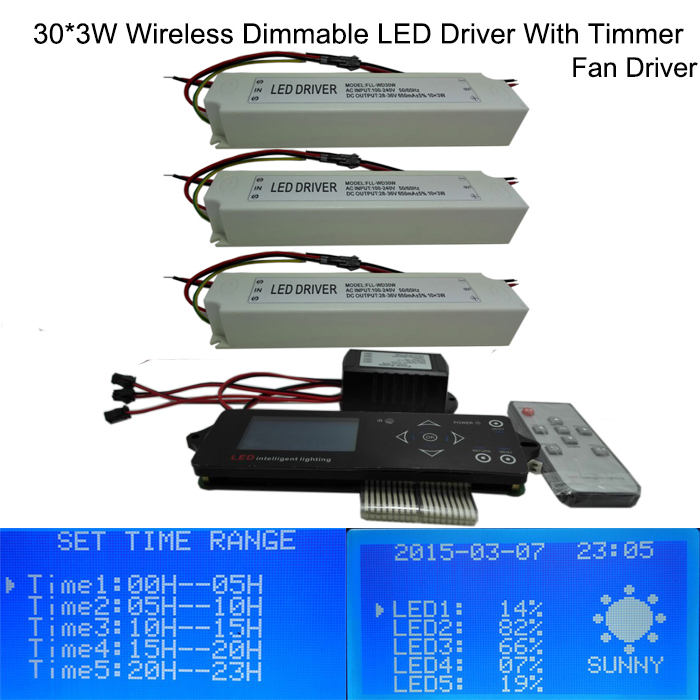 Wireless Dimmable Sunset Sunrise 90w Led Driver 90w