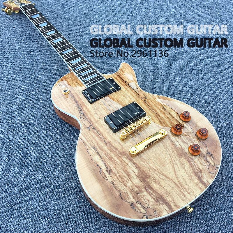 In stock!!!Limited-time offers,Electric guitar Hot Sale Les LP Map panel transparent brown Paul Custom Electric Guitar 6 Strings high quality tl guitar map panel transparent brown custom electric guitar 6 strings guitars real photos free shipping