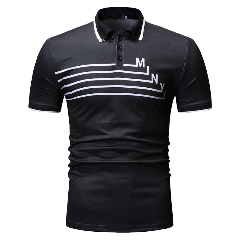 Polo   Shirts Men 2019 New Arrivalmen's Casual Fashion   POLO   Shirt Bodybuilding Clothes for Summer Strangethings