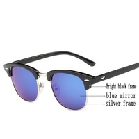 Luxury Vintage Semi-Rimless Sunglasses 2