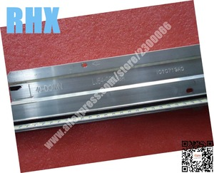 Image 5 - 2piece FOR TCL LCD TV LED backlight L40F3200B Article lamp LJ64 03029A 2011SGS40 5630 60 H1 REV1.1 1piece=60LED 455MM is NEW