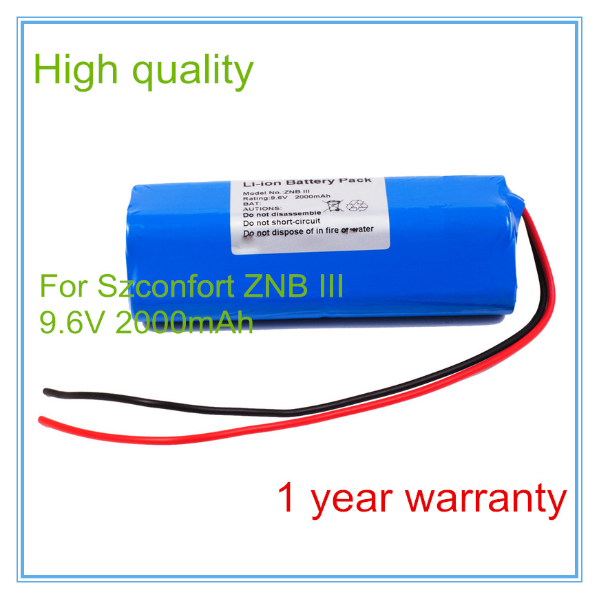 High Quality Replacement for ZNB III Infusion Pump/Syringe Pump battery