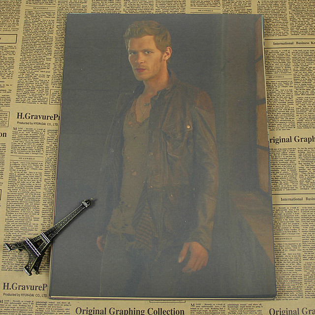 The Vampire Diaries Vintage Retro Matte Kraft Paper Antique Poster Wall Sticker Home Decorations