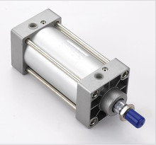Диаметр 63 мм * 200 мм ход ISO6431 SC двойного действия тяга тип стандартный пневматический цилиндр