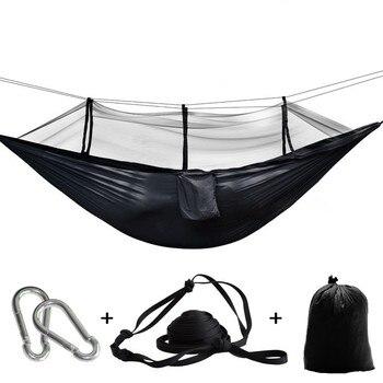 Ultralight Bug Net Hammock Tent Mosquito Outdoor Backyard Hiking Backpacking Travel Camping Double Hamac Rede Hamaca Hangmat