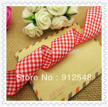 1 25mm width styles polyester scottish font b tartan b font gingham ribbon bow decorative