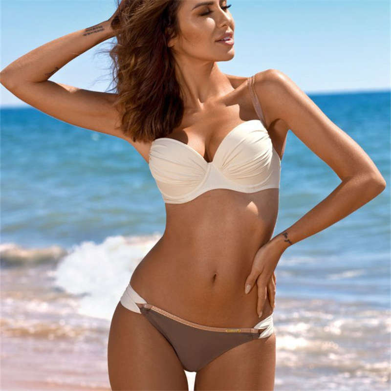 2020 Sexy Push Up Bikinis Women Swimsuit Swimwear Swimming Bathing Suit Swim Beachwear Brazilian Biquinis Bikini Set Lady
