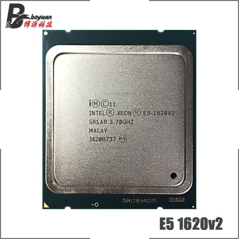 Intel CPU Processor E5 1620v2 Quad-Core Ghz 130W 10M Eight-Thread