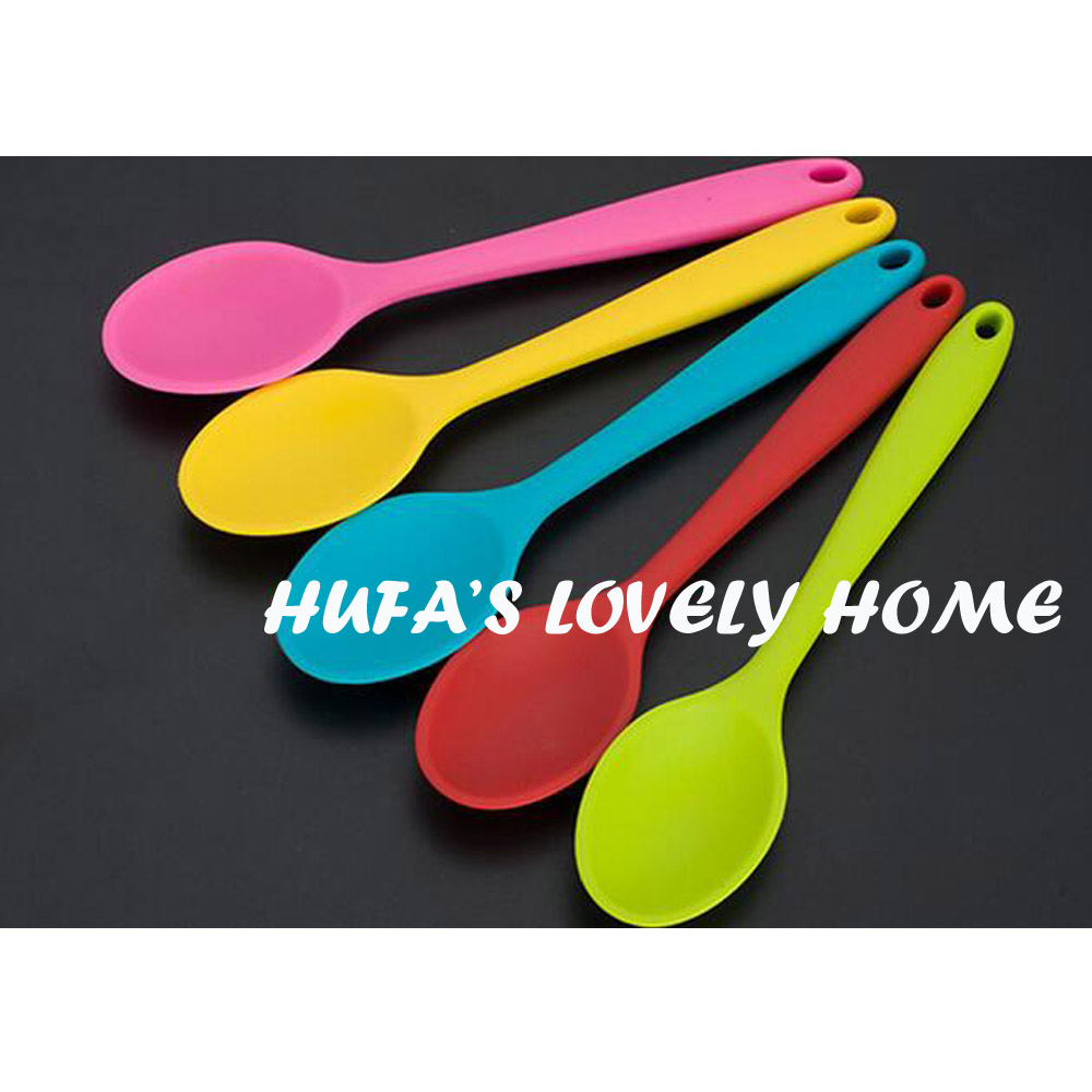 Promotion! SGS FDA New 1 PCS Silicone Mixing Salad Cake Baking Utensil Putty Spatula Non-stick Backware Home Use Co